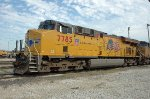 UP 7785, GE C45AC,